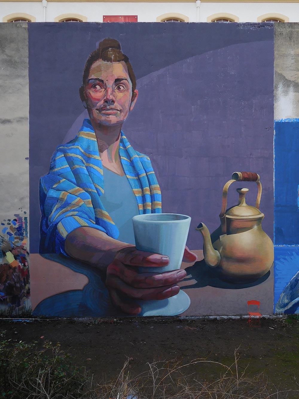 nefrit artist graffiti fresque peinture peintre ocm vibration